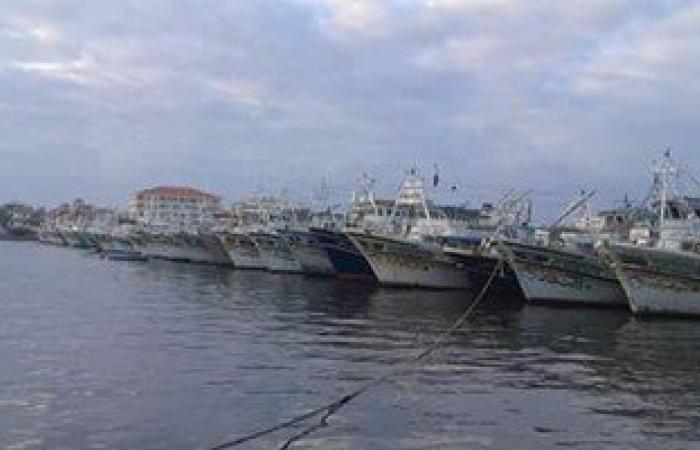 غلق بوغاز عزبة البرج أمام حركة الصيد وانتظام العمل بميناء دمياط