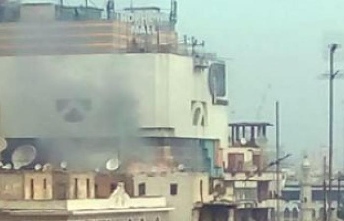 الحماية المدنية تسيطر على حريق 3 عشش بسطح عقار بمصر الجديدة