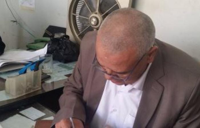 بالصور .. رئيس دمياط يتقدم باستقالته من رئاسة النادى