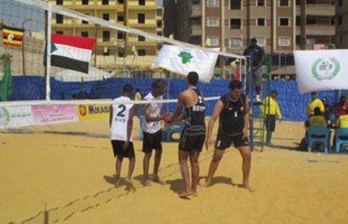 بعثة منتخب الشاطئية تعود من لبنان اليوم