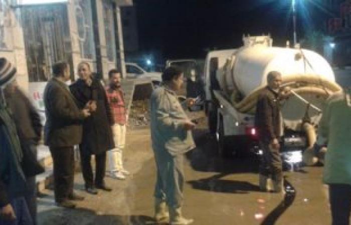 بالصور.. استمرار هطول الأمطار وانقطاع التيار الكهربائى عن بعض مراكز كفر الشيخ