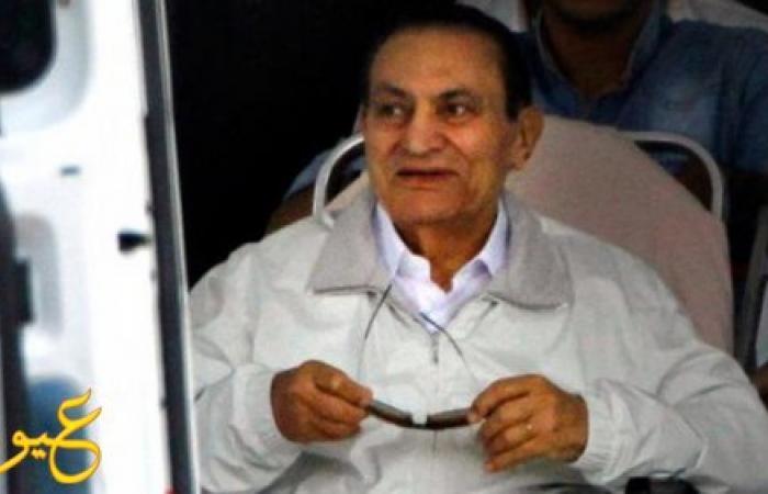 مبارك يدافع عن نفسه لأول مرة