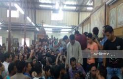 المنيا تودع 15 من جثامين شهداء رحلة دير الأنبا صموئيل (صور)