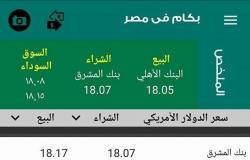 سعر الدولار اليوم السبت 27 مايو 2017 في مصر الآن بالبنوك والسوق السوداء