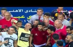 ستاد مصر - مراسم تسليم درع الدوري للنادي الأهلي بطل المسابقة موسم 2016 / 2017