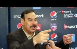 ستاد العرب - هاتف شمران: حرام الحكم حرمنا من هدف صحيح وألحق بنا الخسارة