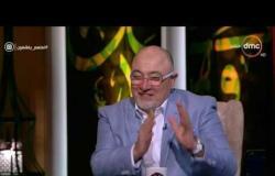 شوف الفنان رشوان توفيق كان بيقضي يومه إزاي وهو بيصور - لعلهم يفقهون
