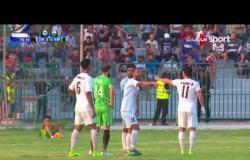 فريق نفط الوسط يهدر ضربة حرة كادت أن تحرز بها الهدف الأول بشباك الزوراء في الدقيقة 79 من المباراة