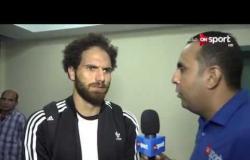 ستاد مصر - لقاء مع المدرب العام بسموحة وبعض لاعبي الفريق عقب الفوز على الزمالك
