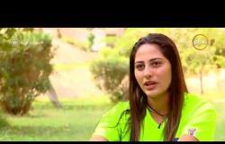 السفيرة عزيزة - آية مهدي .. بطلة مصرية في سلاح سيف مبارزة