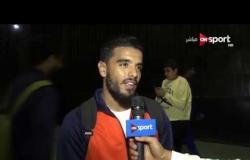 ستاد مصر - لقاء مع حجاج عويس لاعب النصر عقب الخسارة من الزمالك بالدوري