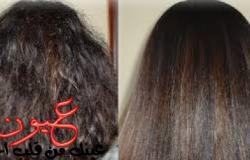 وصفة طبيعية مذهلة في تنعيم الشعر الخشن والمٌجعد تجعله أملس كالحرير خلال 30 دقيقية