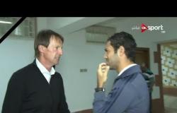ستاد مصر: حسني عبد ربه يلتقي شتراكا قبل المباراة بين الإسماعيلي وسموحة