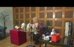 مصرية تصنع تحفًا من بيض النعام
