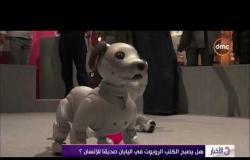 الأخبار - هل يصبح الكلب الروبوت في اليابان صديقا للإنسان؟