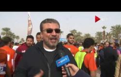 ماراثون زايد - لقاء مع الإعلامي عمرو الليثي خلال فعاليات ماراثون زايد الخير