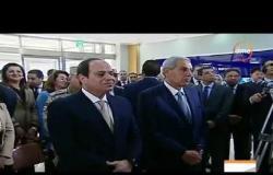 الأخبار - الرئيس السيسي يتفقد مصنعا للإلكترونيات في بني سويف