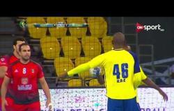 الشوط الأول من مباراة كرة اليد بين منتخب مصر ومنتخب الكونغو في بطولة أمم إفريقيا