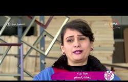 السفيرة عزيزة - المرأة المصرية تقتحم مجال الصناعات المكتبية