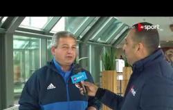 تغطية خاصة - لقاء خاص مع خالد عبد العزيز وزير الرياضة وحديث عن أزمة نادي الزمالك