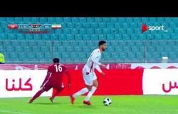 ملخص الشوط الأول من المباراة الودية بين إيران وتونس