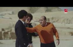 لاول مرة .. عمر جابر مذيعا على MBC مصر .. شاهد رد فعل مهيب