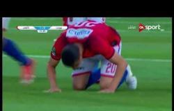 الهدف الاول لفريق الأهلى فى مرمى بتروجيت يحرزه سعد سمير فى الدقيقة 22 من زمن المباراة