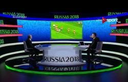 أبرز الحالات التحكيمية في مباراة مصر وروسيا مع ك. أحمد الشناوي