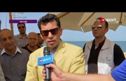 لقاء مع أشرف صبحى وزير الشباب والرياضة أثناء زيارته لبورسعيد