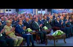 """تغطية خاصة - لحظة افتاح الرئيس السيسي لـ """" كوبري قوص بقنا """""""