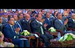 """تغطية خاصة - لحظة افتتاح الرئيس السيسي لـ """" كوبري الفردان الشمالي """""""