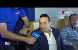 تصريحات أحمد عوض رئيس بعثة المصري في الجزائر قبل مواجهة اتحاد العاصمة