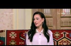 السفيرة عزيزة - شيرين عاصم - توضح أغلبية العاملين في مجال الحرف ( نساء )