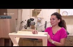 """السفيرة عزيزة - تقرير عن """" المهندس / يحي الحصاوي .. يعلم مجموعة من السيدات (حرفة النجارة ) """""""