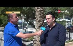 تصريحات أحمد عوض رئيس بعثة النادي المصري البورسعيدي استعدادا لماوجهة اتحاد العاصمة