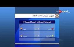 مباريات الأسبوع الثامن من الدوري المصري - الأحد 23 سبتمبر 2018