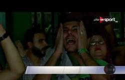فرحة البورسعيدية بتأهل المصري لنصف نهائي الكونفدرالية