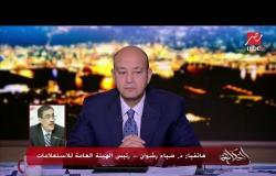 المداخلة الكاملة لرئيس هيئة الاستعلامات ضياء رشوان مع برنامج الحكاية