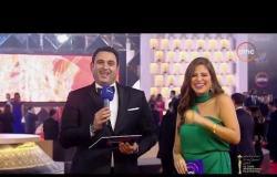 """مهرجان القاهرة السينمائي - النجم الكوميدي الرائع """" أكرم حسني """" يغني أغنية """" إيبو مش بسكوته """""""
