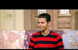 """السفيرة عزيزة - المنشد / أشرف سليم - يتحدث عن علاقة الإنشاد بدراسته """" الصعيد أحلى فن وأحلى إنشاد """""""