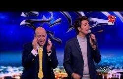 عمرو اديب منبهراً بأداء محمد محسن لأغنية أم كلثوم