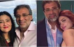 أول رد من زوجة خالد يوسف على خبر زواجه من ياسمين الخطيب