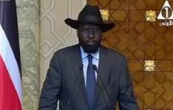 سلفاكير يدعو السيسى لزيارة جنوب السودان.. والرئيس يرحب