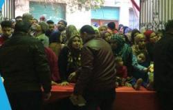 """""""مستقبل وطن"""" يطلق منفذين لبيع اللحوم والسلع بأسعار مخفضة فى السلام والمعصرة بالقاهرة"""