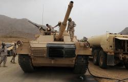 """بالفيديو... """"قوات سعودية كبيرة"""" تتحرك نحو الجنوب بمتابعة وزير الحرس"""