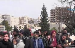 فيديو : طلاب الثانوية الليبية يعتصمون من جديد قبالة النواب