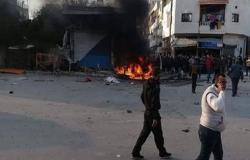 انفجار سيارة مفخخة في اللاذقية شمال غربي سوريا (شاهد)