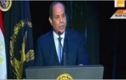 الرئيس السيسي: ثورة 25 يناير عبرت عن تطلعات المصريين لبناء مستقبل جديد