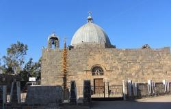 إحدى أقدم كنائس العالم... كنيسة القديس جورجيوس في مدينة إزرع السورية (فيديو+صور)