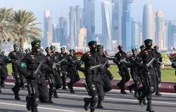 قوة عسكرية قطرية تصل إلى السعودية (صور)